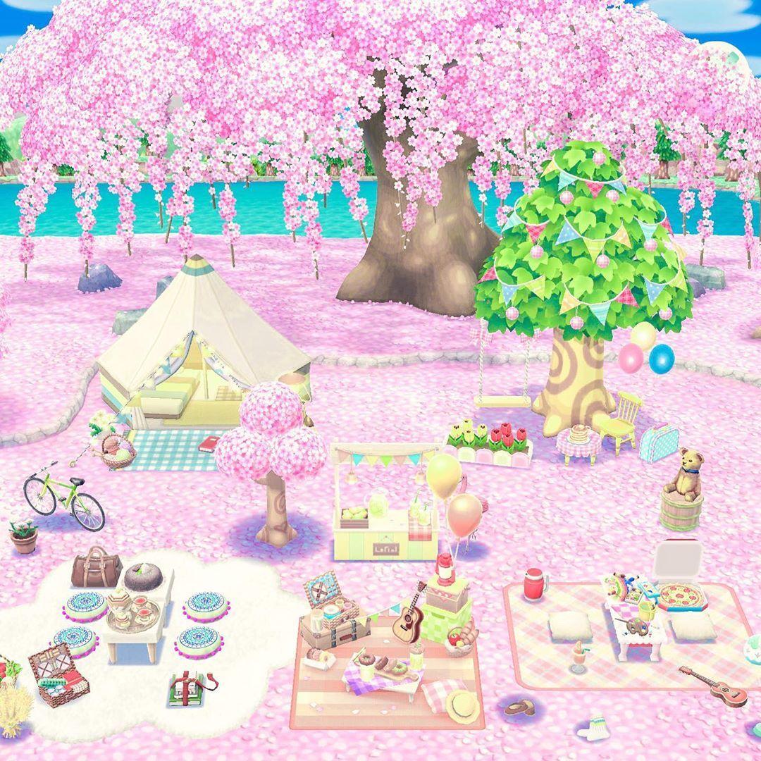 Spring Picnic Animal Crossing Pocket Camp Animal Crossing Pc Animal Crossing Game