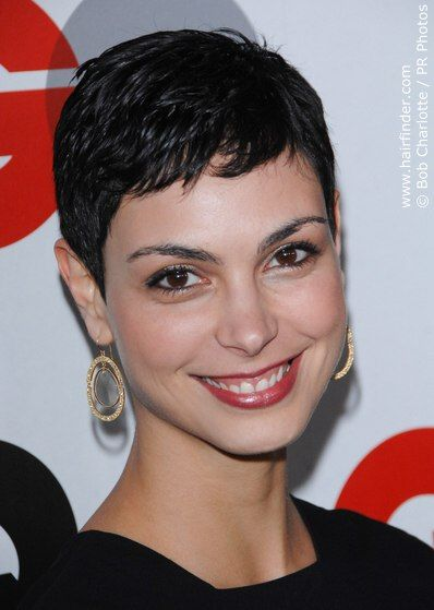 Morena Baccarin Short Hair Pictures Very Short Hair Celebrity Short Hair
