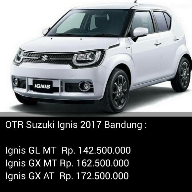 Hot Promo Paket Kredit Dp Ringan Angsuran Murah Mobil Suzuki Ignis