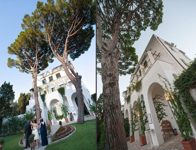 Villa Eva Ravello Wedding Setting