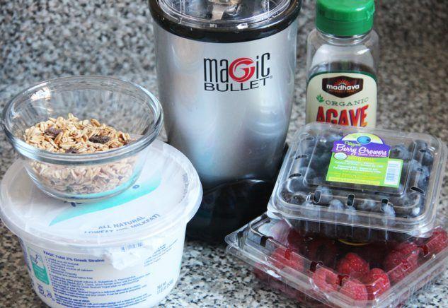 Blended Breakfast Parfait   Magic recipe, Magic bullet recipes, Parfait breakfast