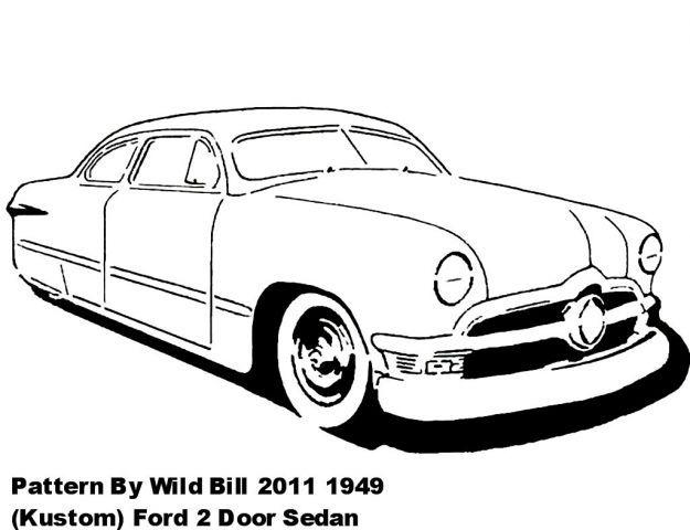 1949  kustom  ford 2 door sedan - transportation - user gallery