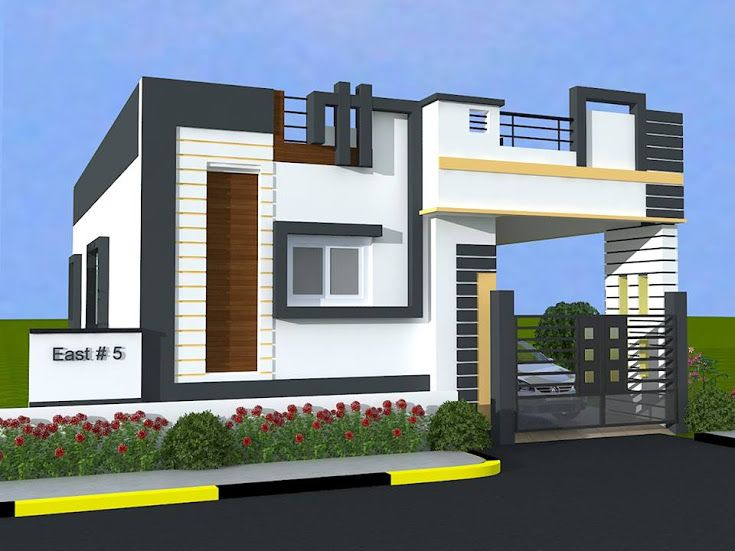 South Indian Small House Front Elevation Designs Valoblogi Com