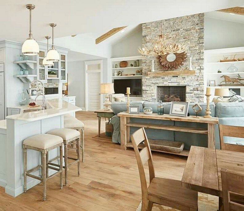 Beach Home Decor Ideas: Beach House Interior Design Ideas (49)