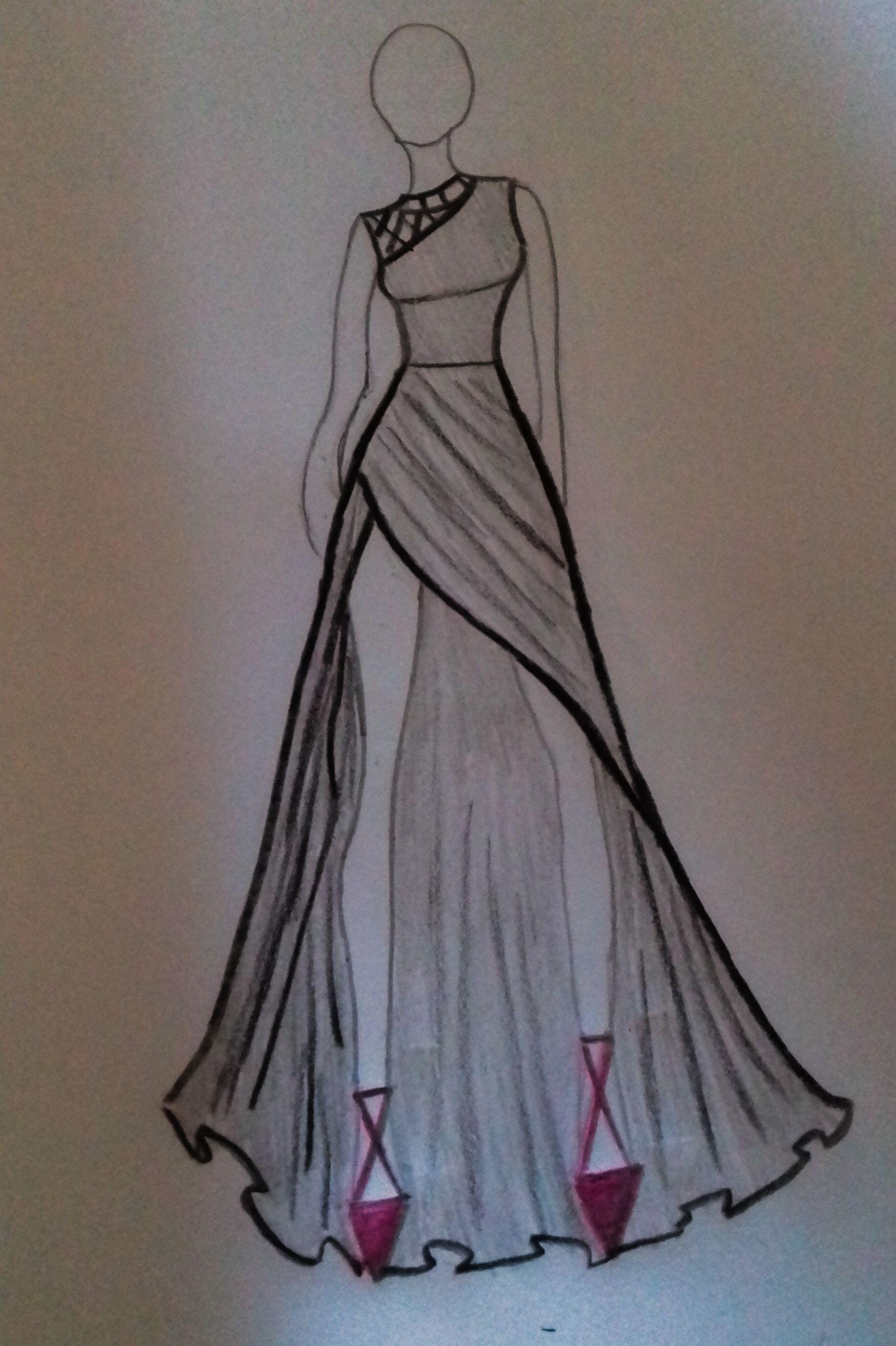 Pin De Dianka Em Kresleni Em 2020 Com Imagens Desenhos De Moda