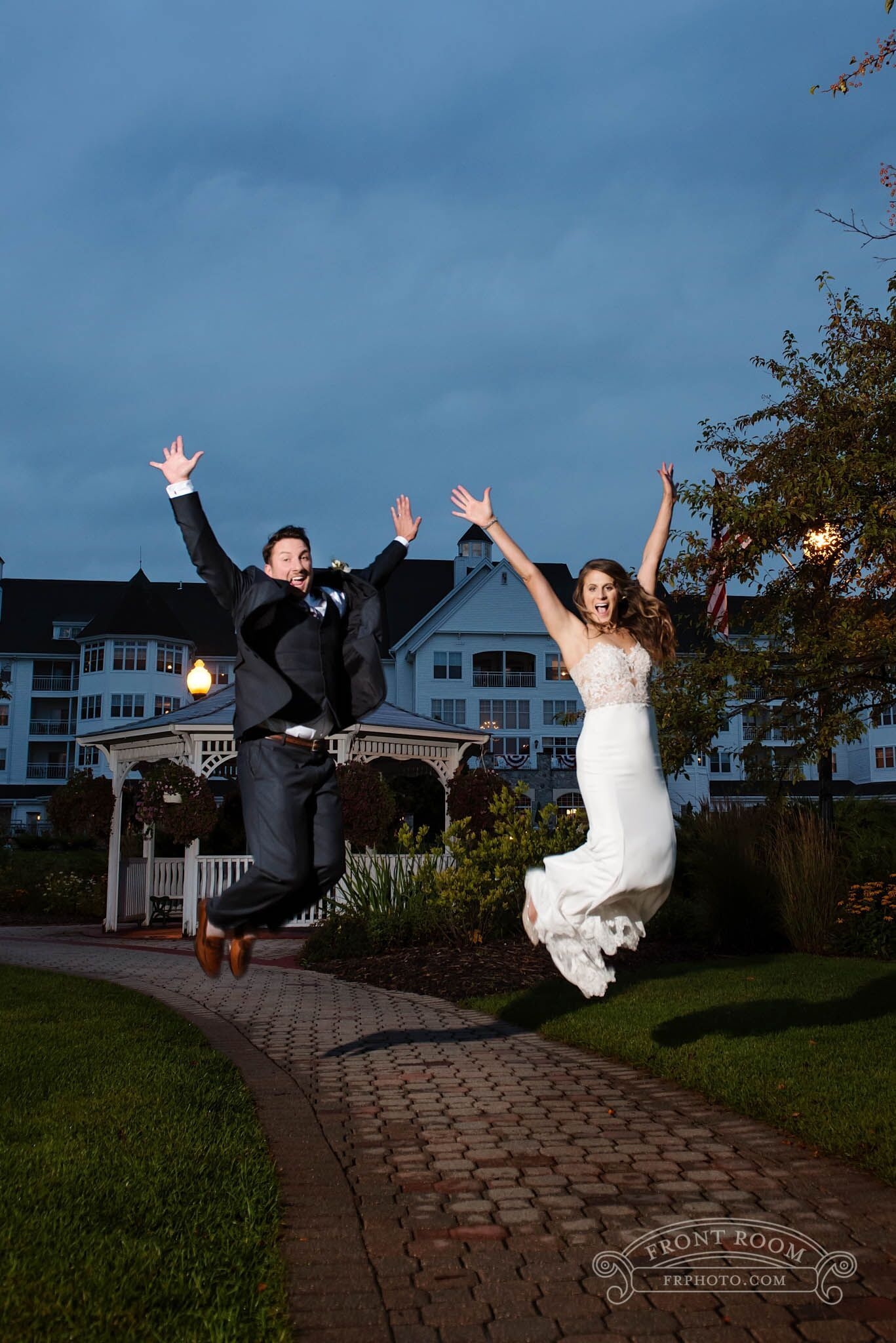 Fun Wedding Photos at The Osthoff Resort, Elkhart Lake, WI ...