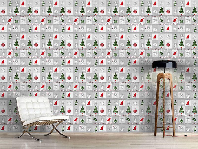 Design #Tapete Weihnachtstraum
