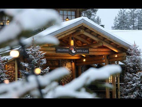 Talvi on saapunut Joulupukin pajakylään Rovaniemelle