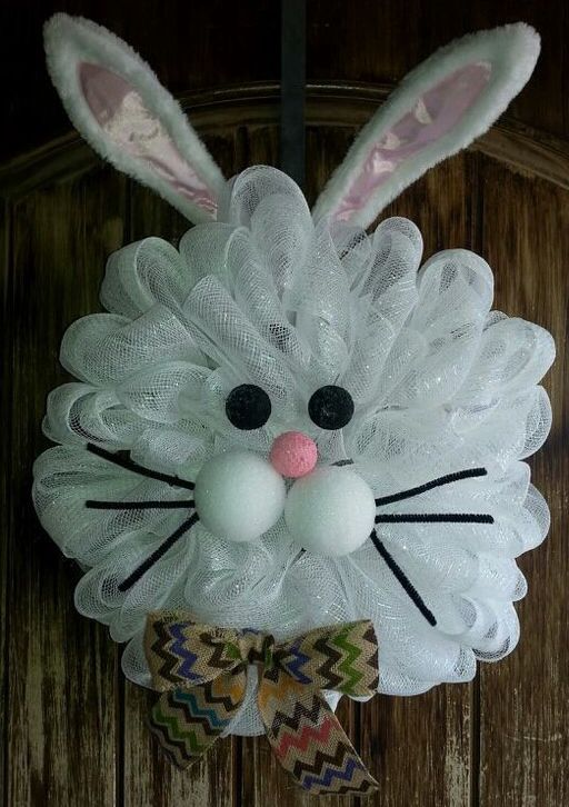 Pin By Pam Hubbard On Easter Decor Pinterest Wreaths Easter And