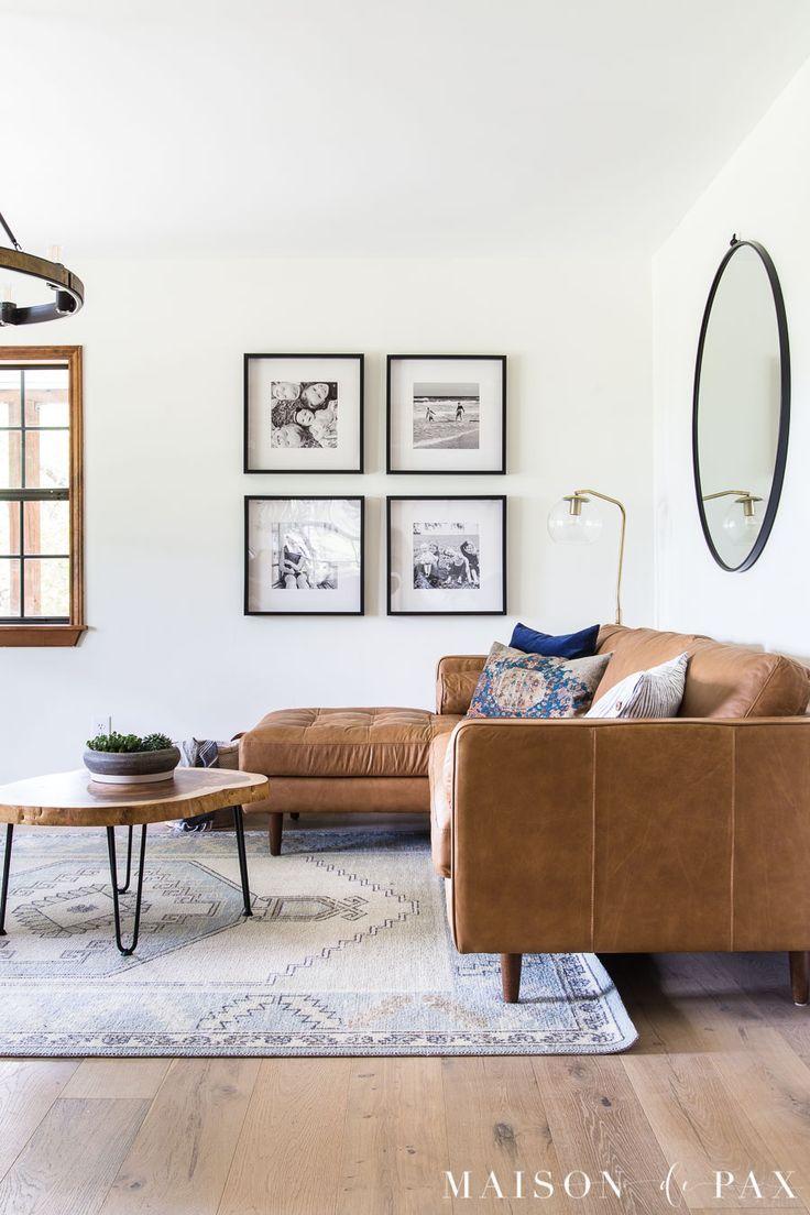 Rustic Modern Farmhouse Living Room - Maison de Pax