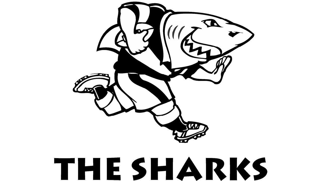 Meaning Sharks Logo And Symbol History And Evolution Rugby Logo Shark Logo Embroidery Logo