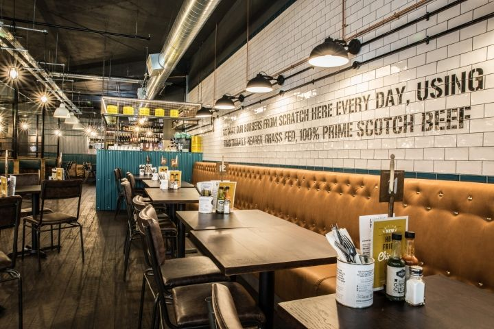Handmade Burger Co by Brown Studio, Bournemouth – UK ...