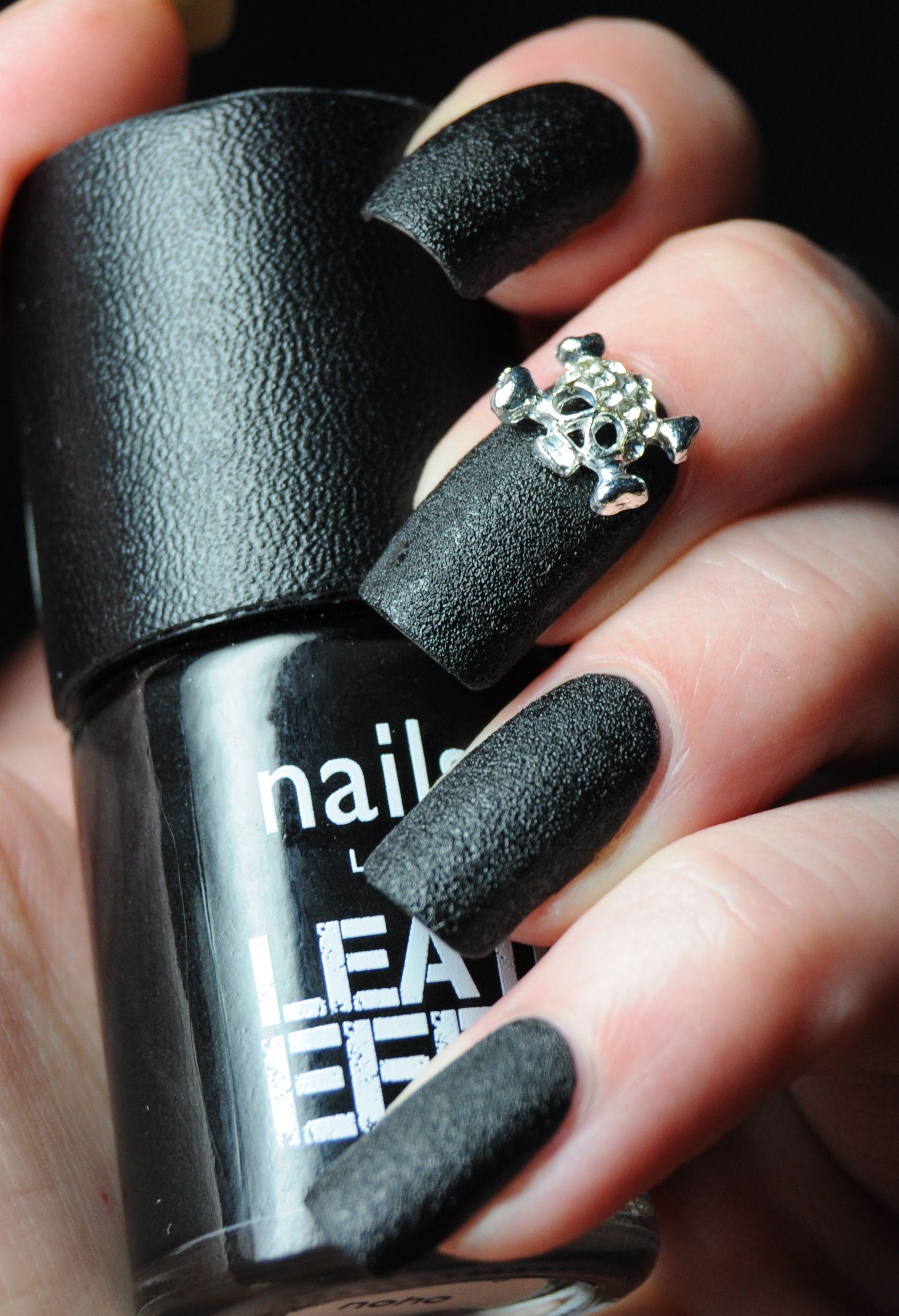 Nails Inc Leather Effect Noho Eeeek Nail Polish Melissa Kingery