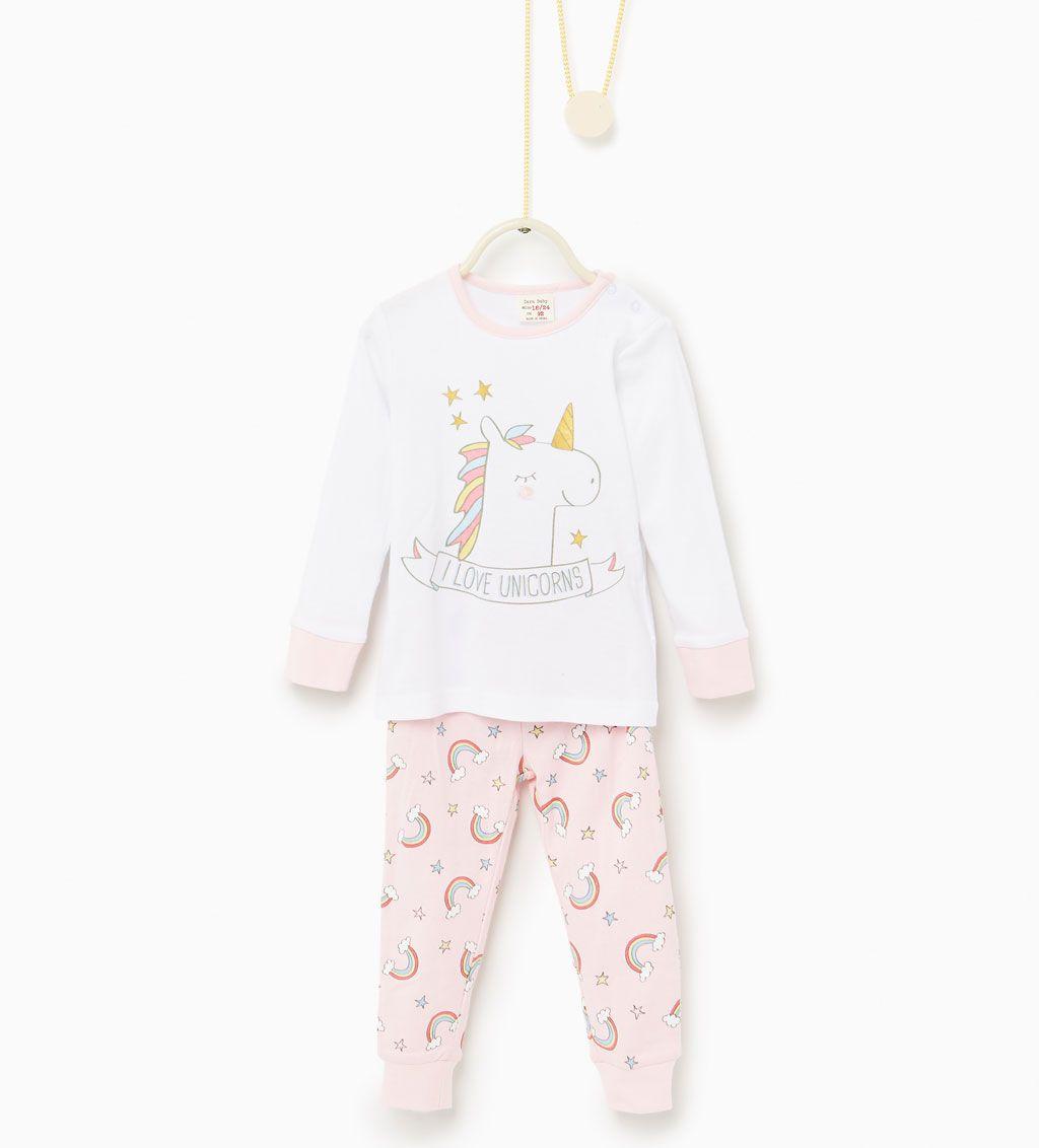 plutôt cool fournir un grand choix de meilleur Image 1 de Pyjama deux pièces unicorne de Zara   TSHIRT ...