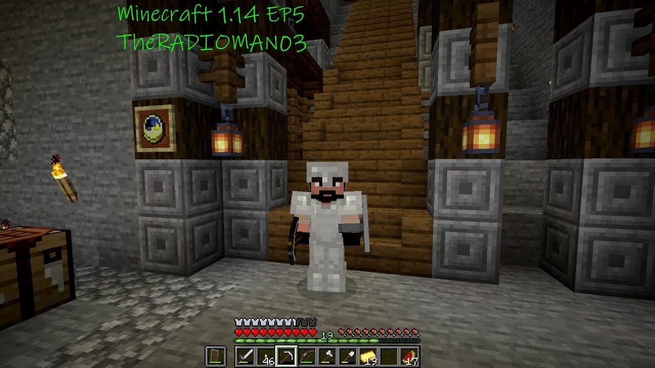 Minecraft 1 14 Ep5 Mine Design Nether Peek Minecraft Minecraft 1 Design