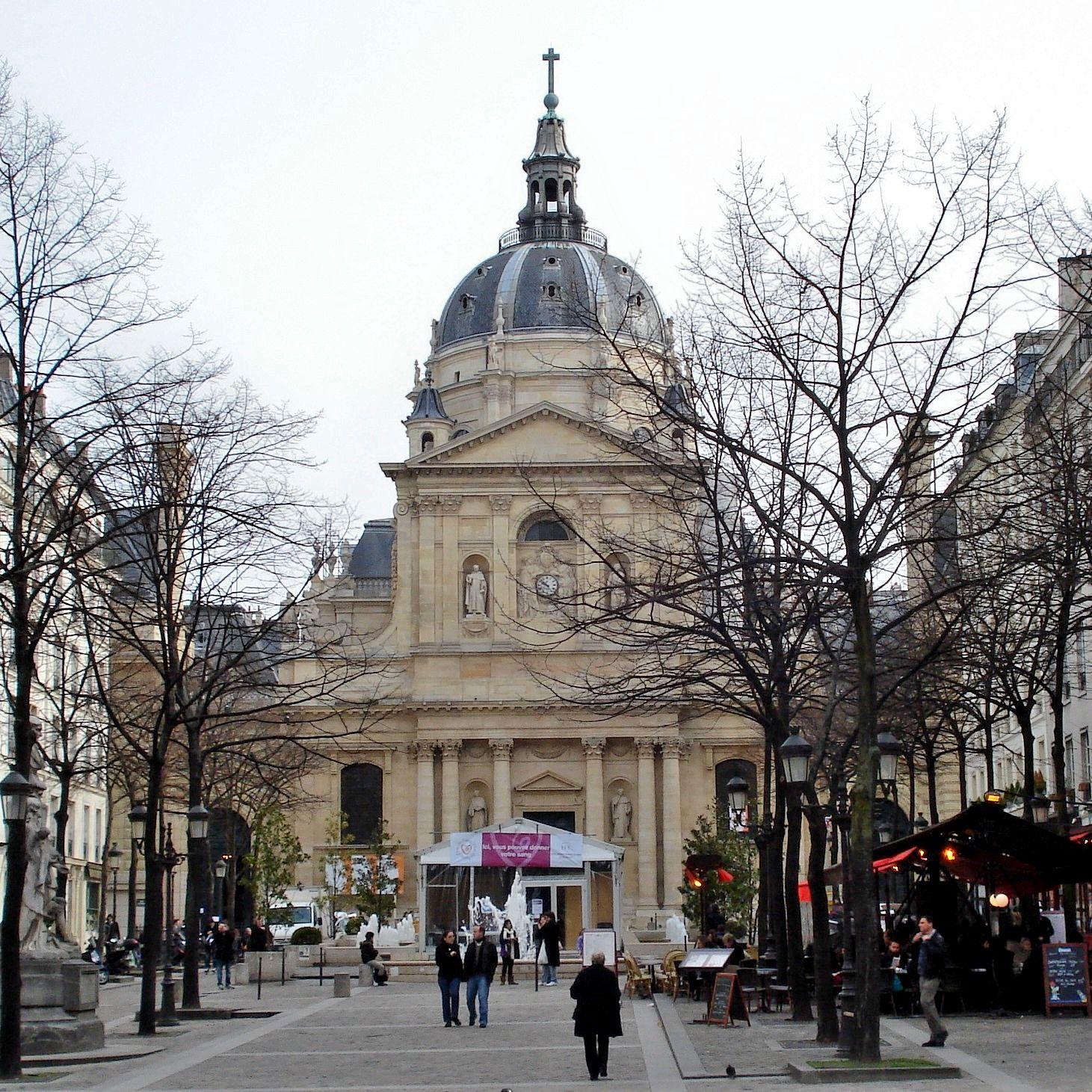 chapelle de la sorbonne. Chapelle De La Sorbonne, Begun 1626, By Lemercier, Paris. \ Sorbonne S
