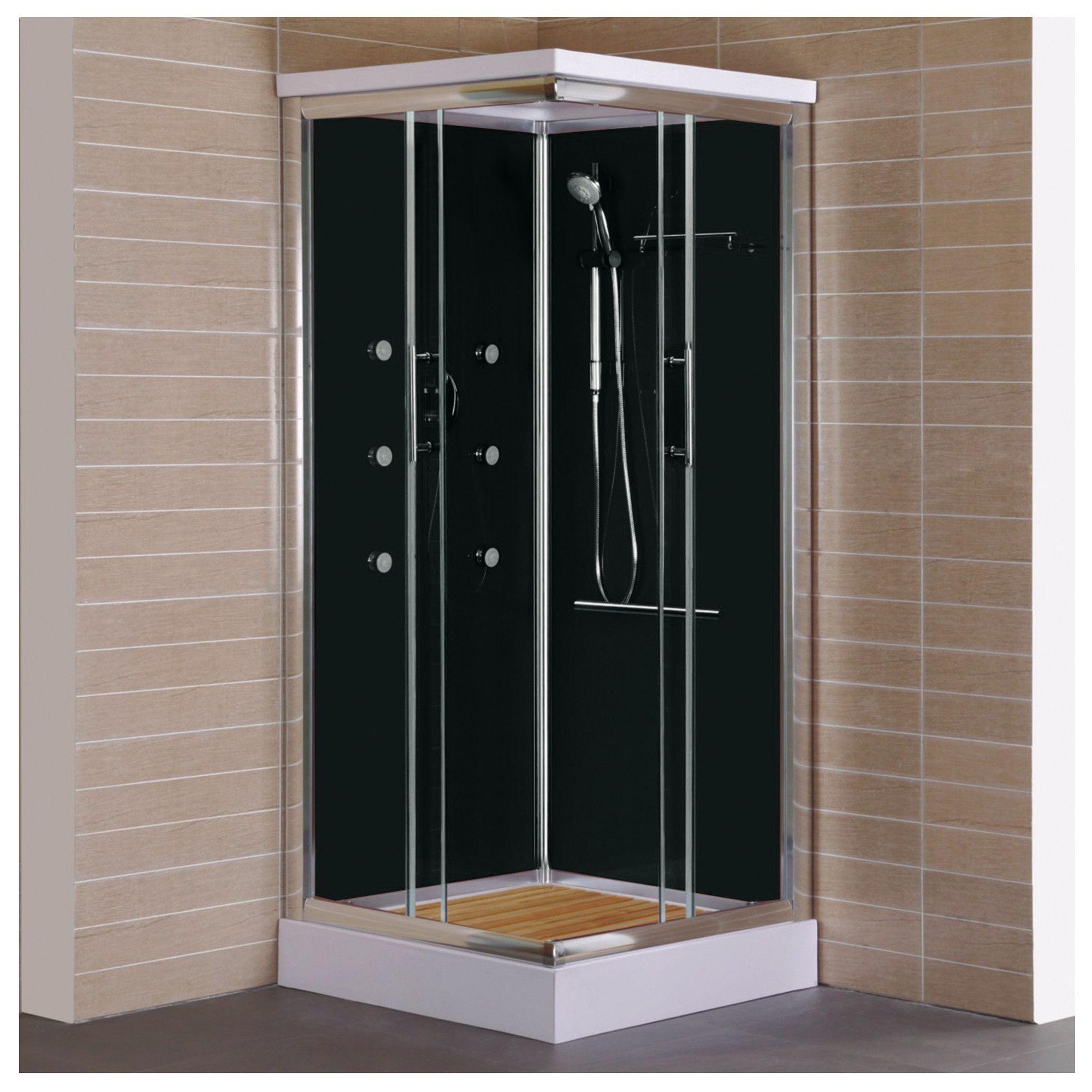 Sensi dacqua cabina de ducha 90x90x218 cm homecenter for Instalacion cabina ducha