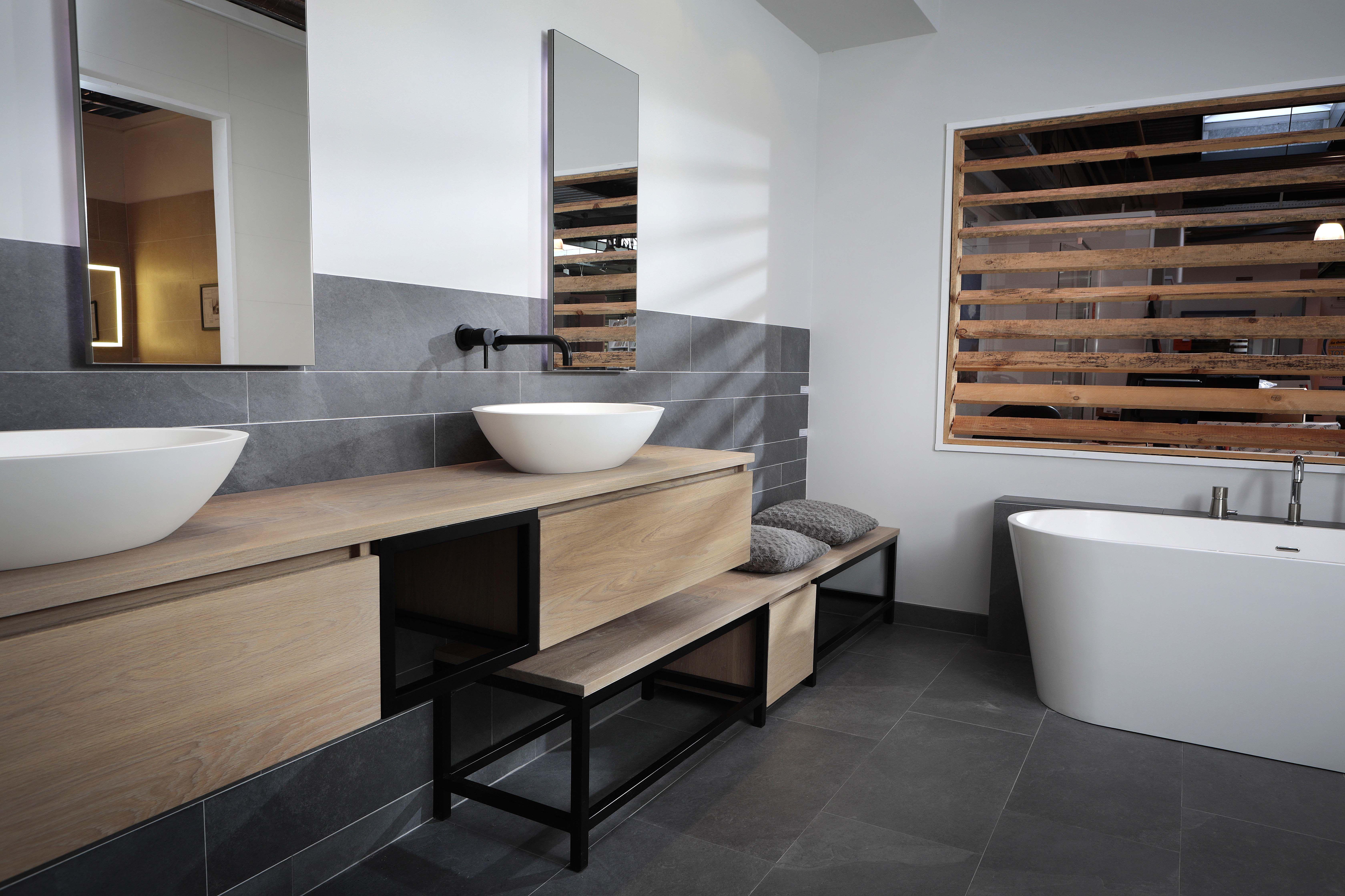 de lavanto chianti i c m een zwart marmerenwastafel badkamer