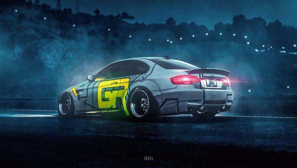 Bmw Race Car Artwork Wallpaper Bmw Sports Car Wallpaper Nissan Skyline Gt