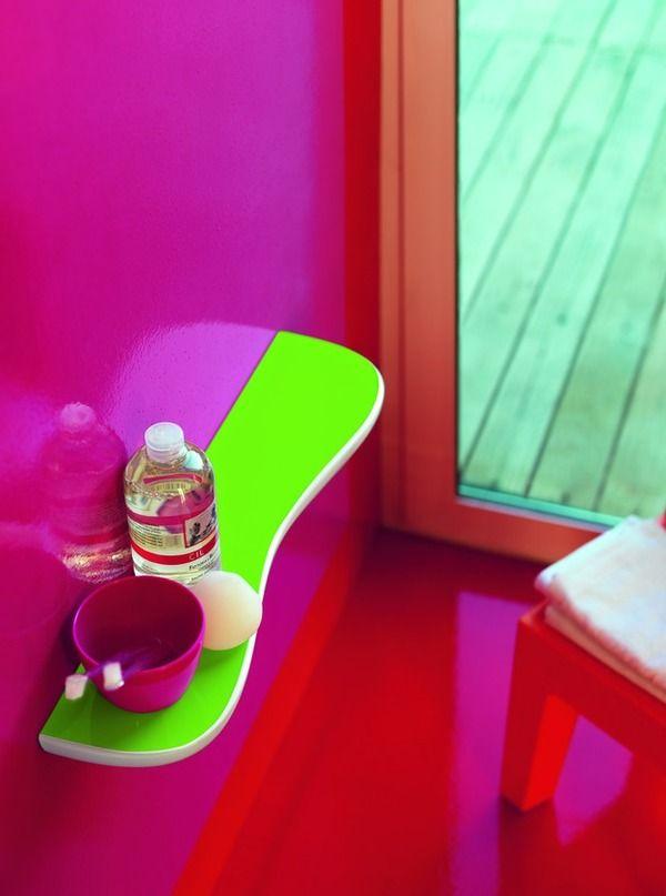 getTransformation6 600x807 Colourful Children's Bathroom by Laufen. Colorido baño para los niños.
