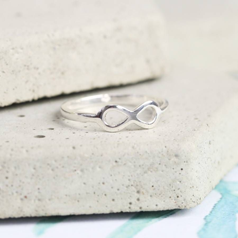 Sterling Silver Infinity Symbol Ring Products Infinity Symbol And