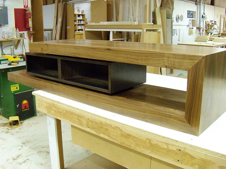 Superior Walnut TV Stand | Custom Furniture And Cabinetry In Boise, Idaho By J.  Alexander Fine Woodworking
