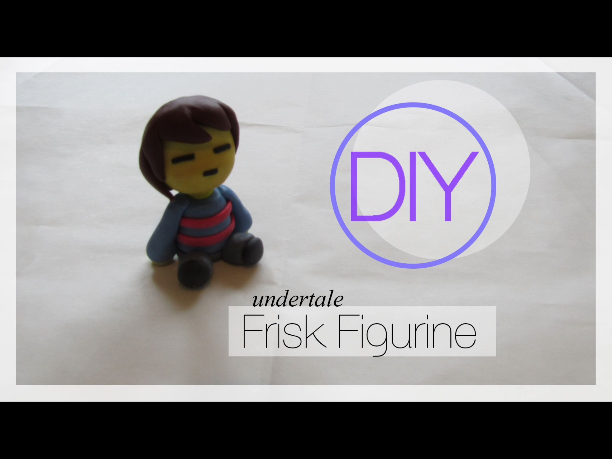 Polymer Clay Frisk Undertale Polymer Project Clay Polymer Clay