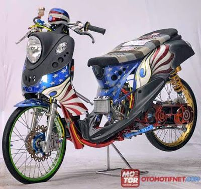 Modifikasi Motor Drag Mio Fino Automotivegarage Org
