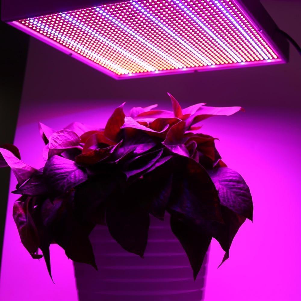 120 W 1365 Led Crece La Lampara Del Panel De La Luz Para Las Lamparas Led De La Planta Hidroponica De La Floracion De Las Verduras De Interior Para El Crecimien