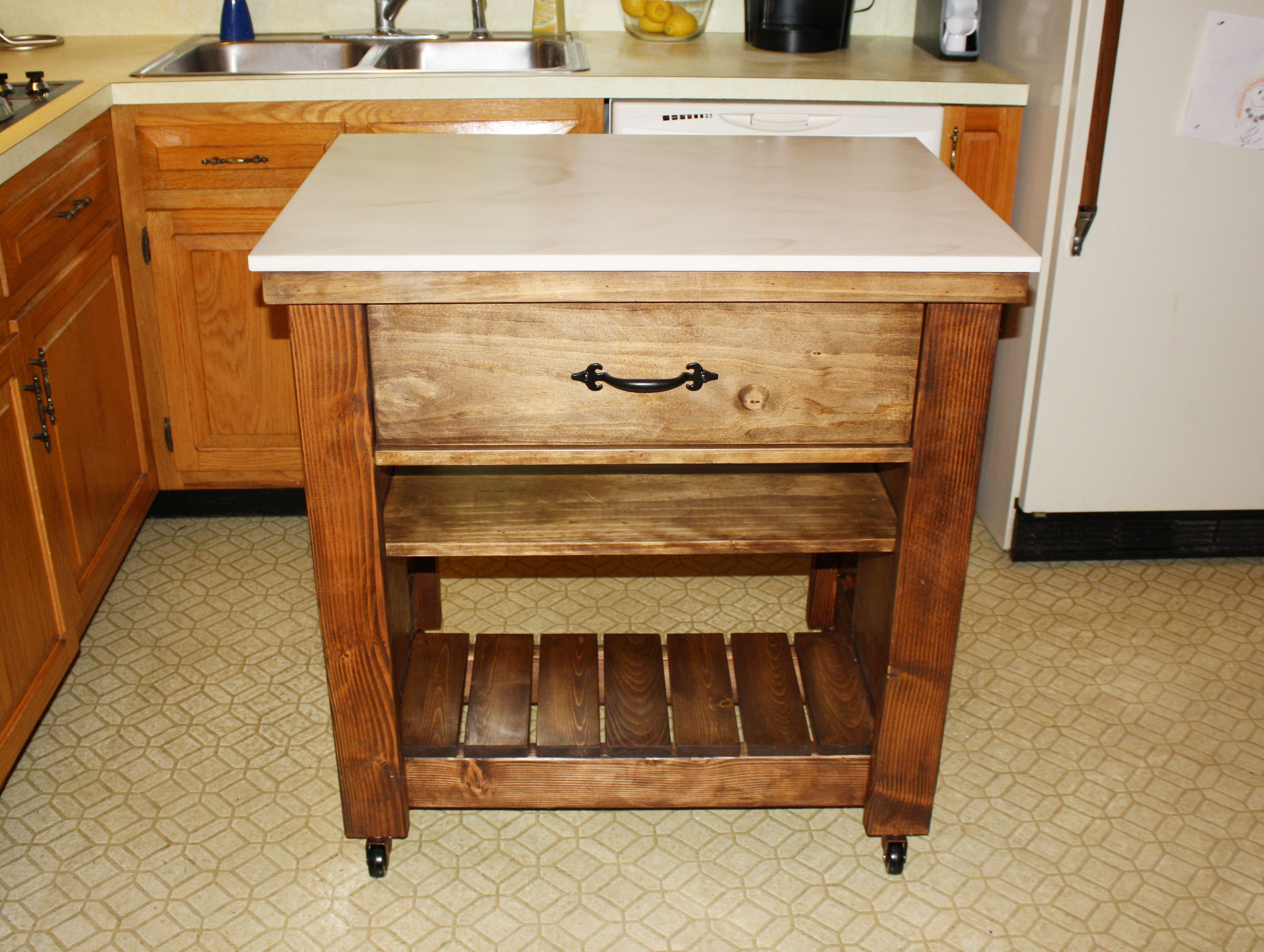 Ana White | The only glamorous thing in my kitchen... - DIY Projects ...