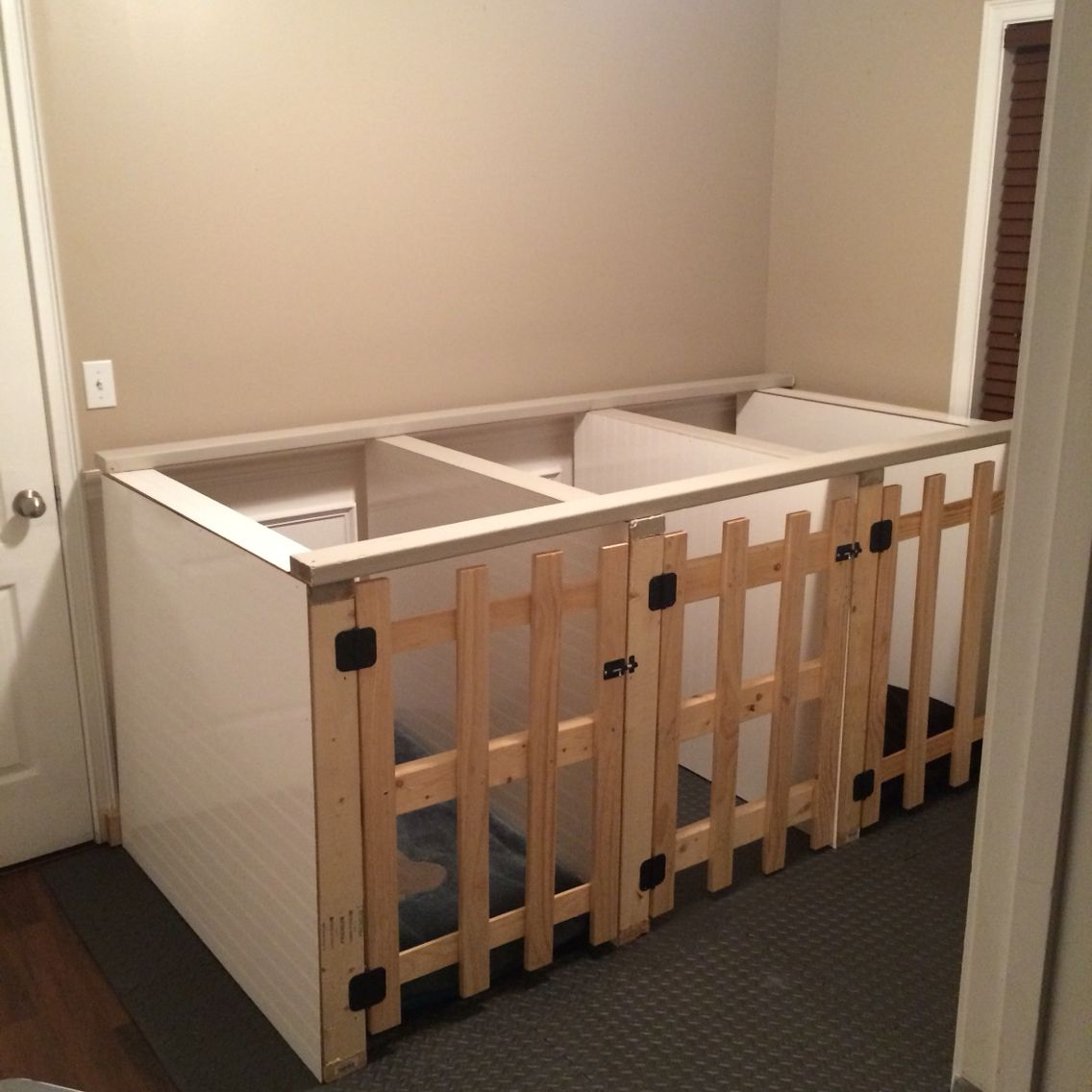 diy dog indoor kennels | pet love | pinterest | dogs, dog grooming