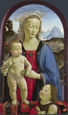 David Ghirlandaio: The Virgin and Child with Saint John