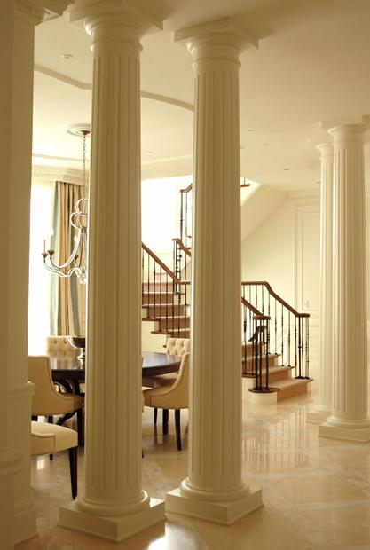 Brilliant Scott Yetman Home Design Great Pillar House By Interior Ceramic Tile Floor
