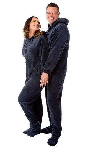 Matching pajamas for couples are fun to lounge around in. This sleepwear  collection has many