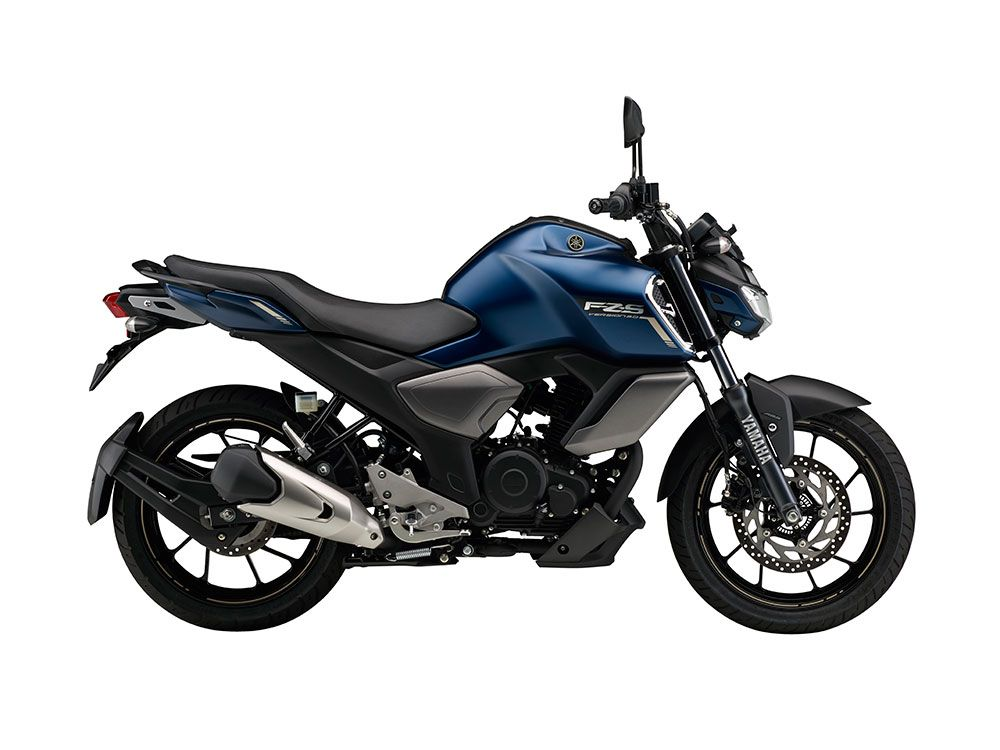 2019 Yamaha Fzs V3 0 Colors Cyan Blue Matt Blue Matt Black Fi