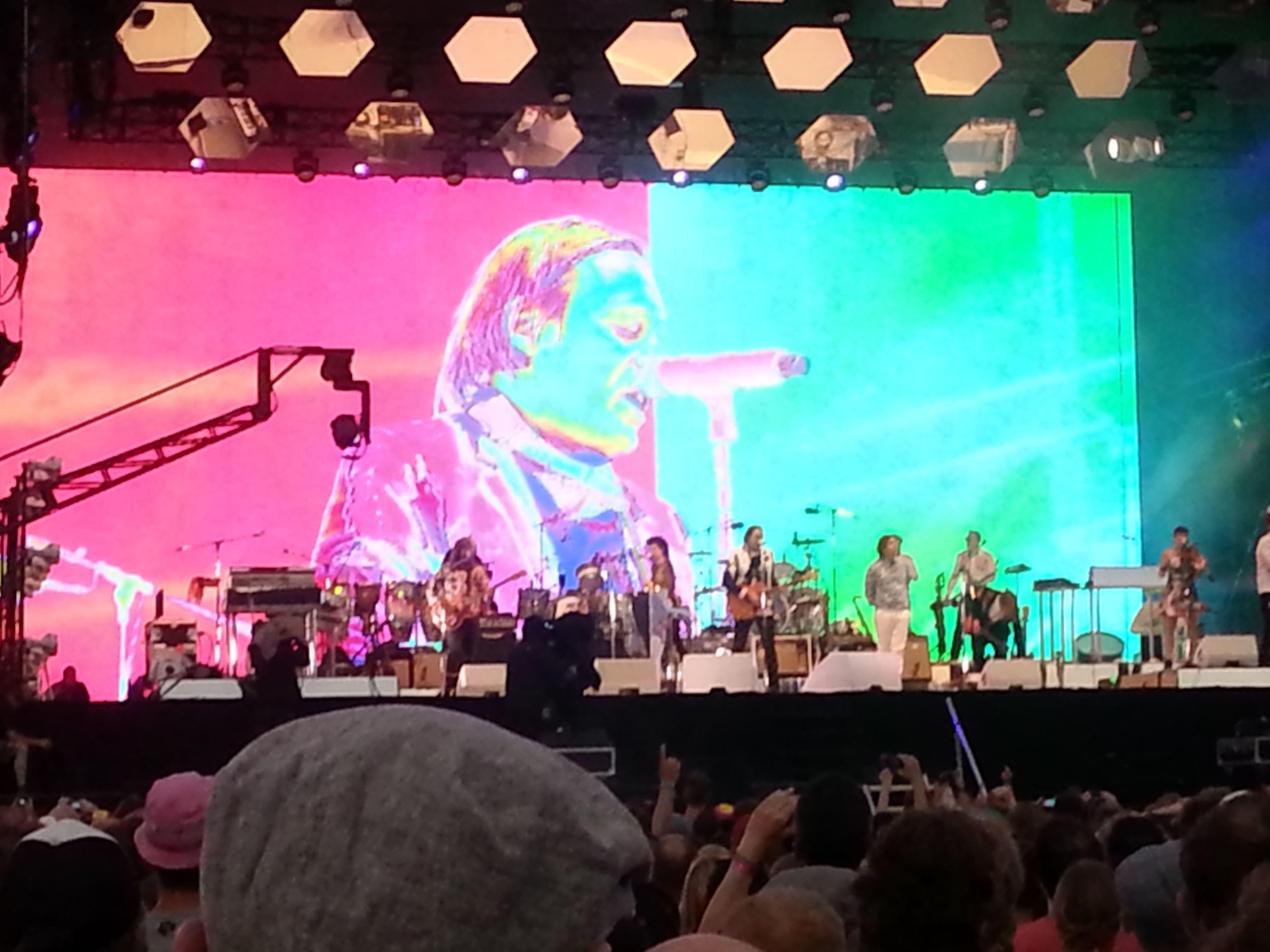 De band in de storm (Arcade Fire)