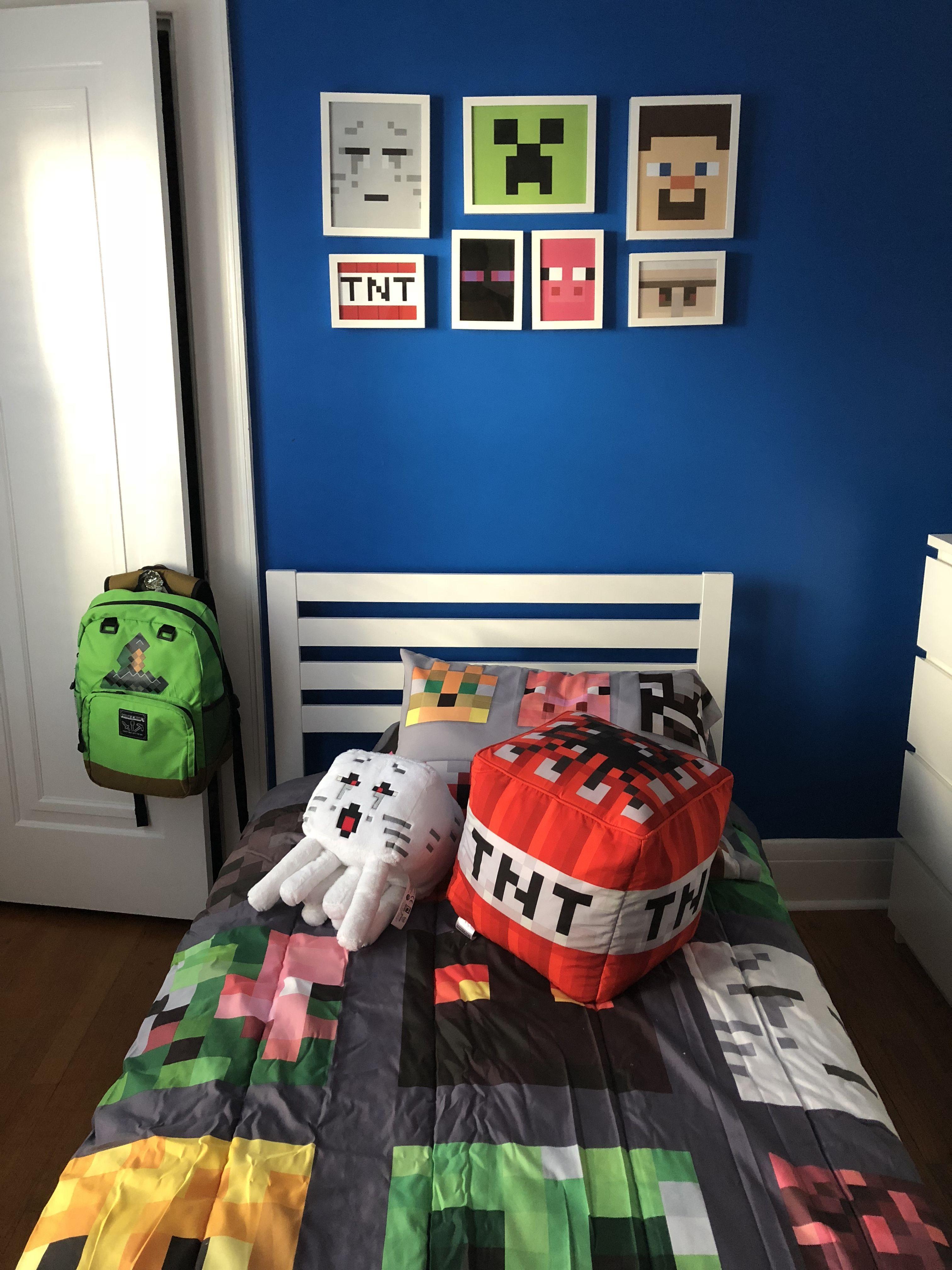 Minecraft Bedroom Schody