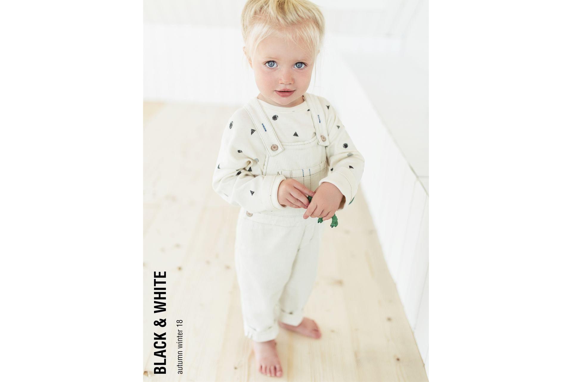 Black white shop by collection baby meisje maanden jaar