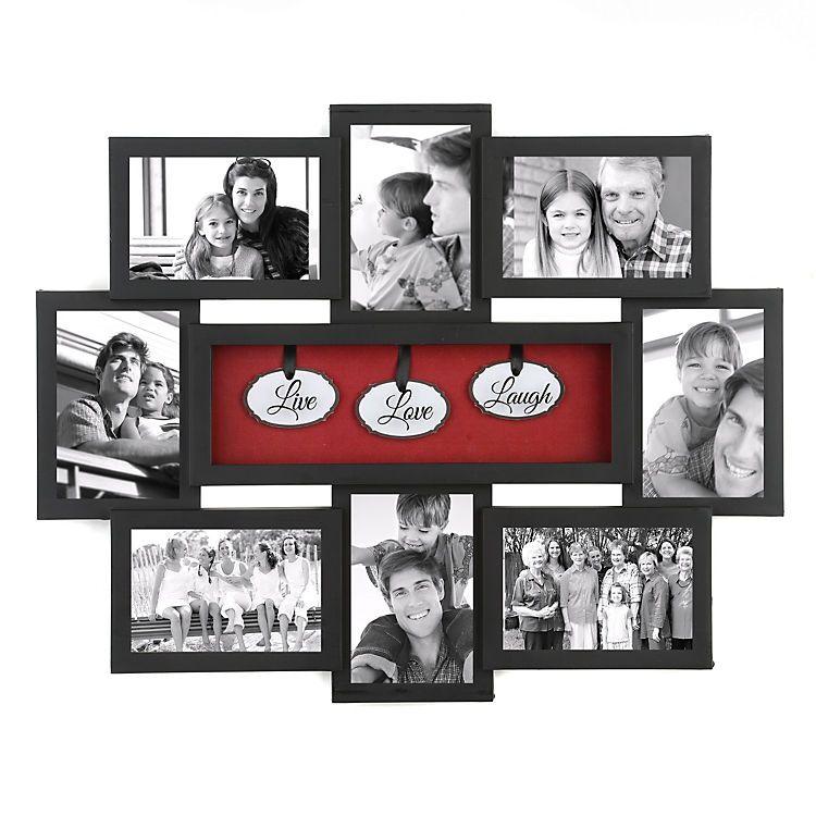 Live Love Laugh Shadowbox Black Collage Frame Crafts Pinterest