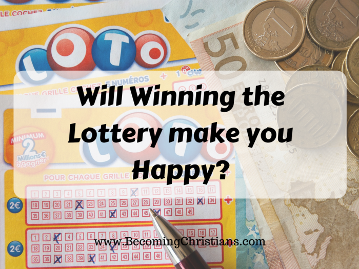 Will Winning the Lottery make you Happy? | Becoming