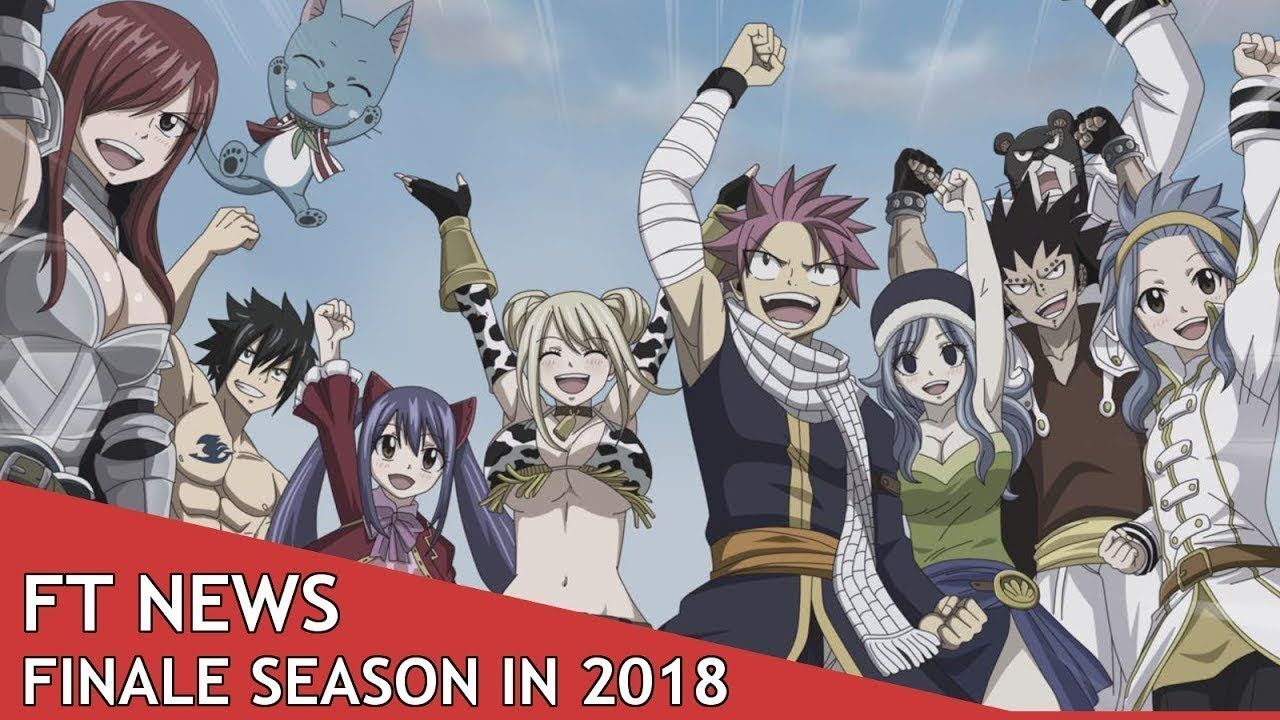 final season of fairytail! confirmed date Fairy tail