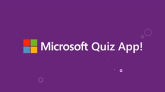 Microsoft Announces New Quiz App