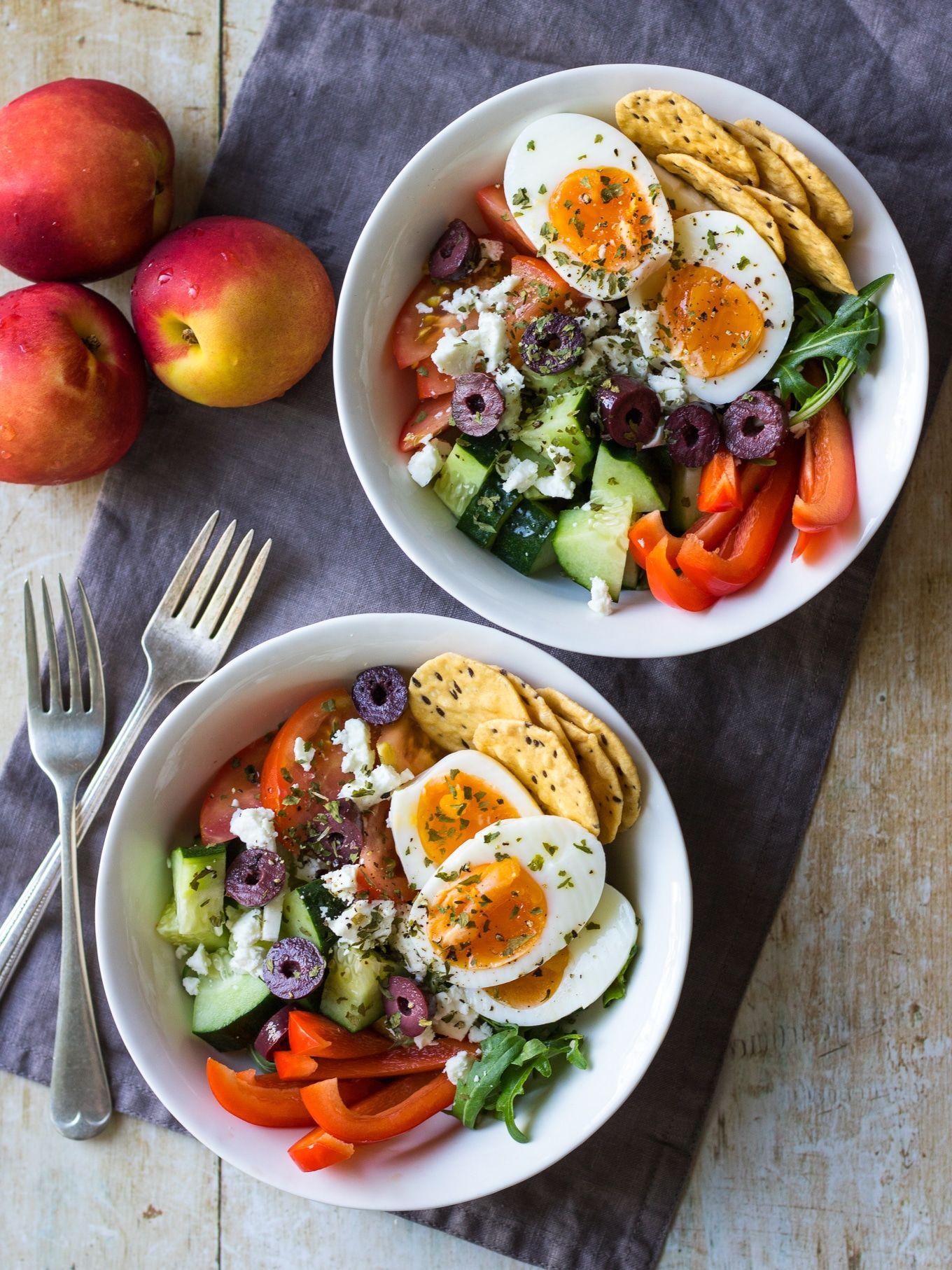 Meal Prep Breakfast Bowls Greek Style Recipe Quick Healthy