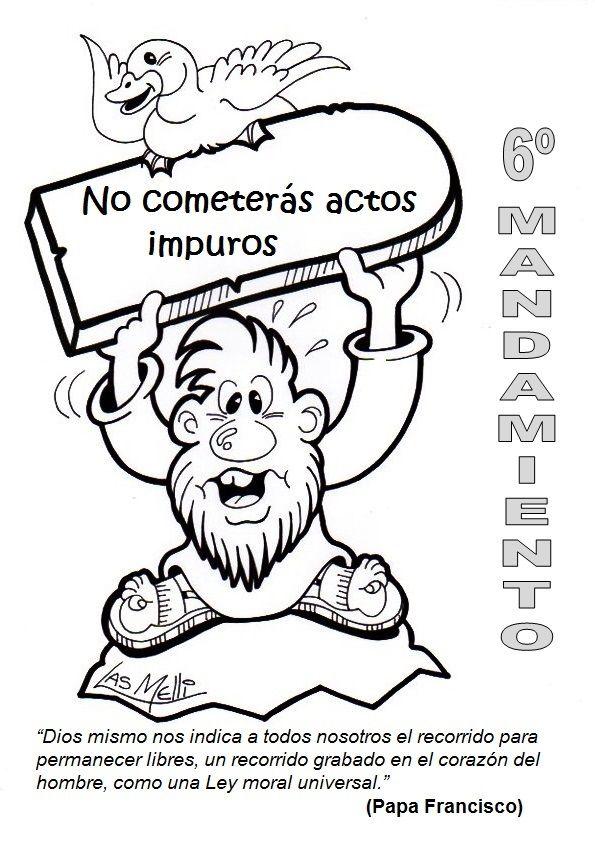 No cometerás actos impuros. | Comics creación de Ideas temáticas ...