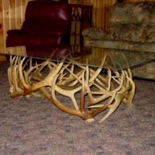 Deer Antler Coffee Table