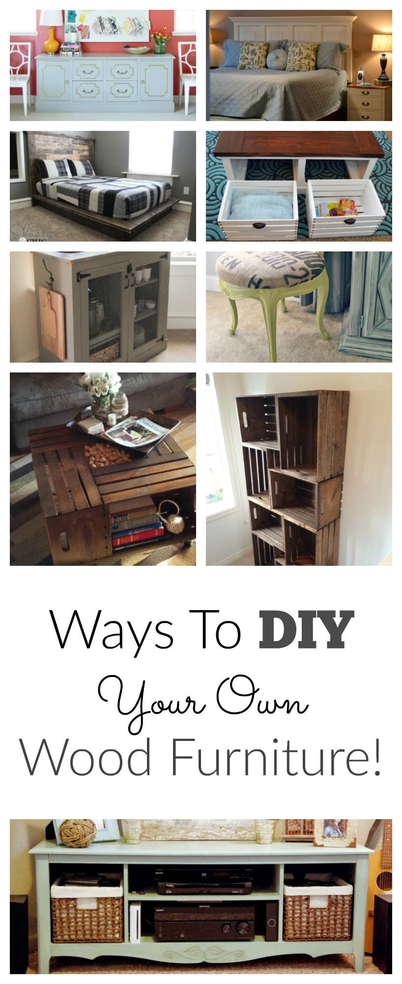 I LOVE DIY Furniture, Save Money And Make Your Home Beautiful! This Site  Also