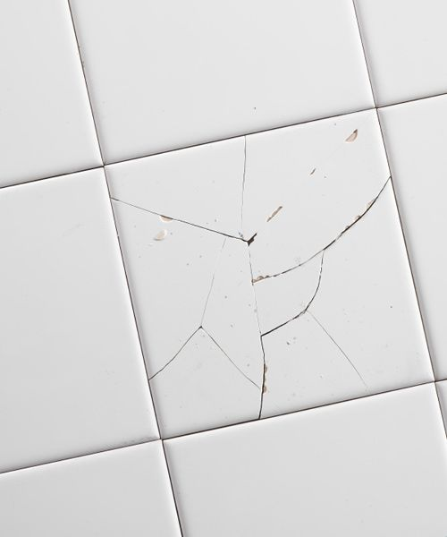 Before You Sell Fix It Or Leave It Cracked Tile Repair