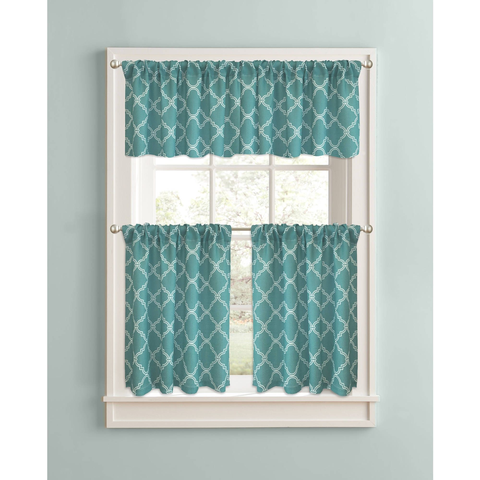 Turquoise Blue Kitchen Curtains | http://latulu.info/feed ...