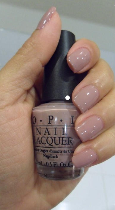 OPI Nail Polish, Tickle My France-y muted pink nails