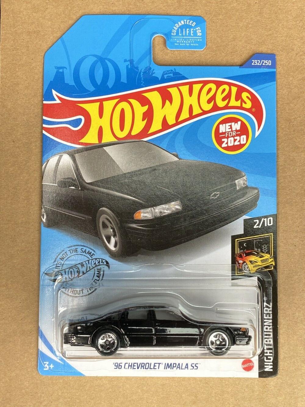 2020 hot wheels n case 96 Chevrolet Impala SS